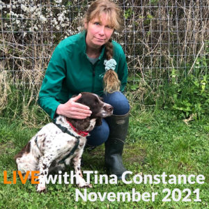 Interactive and Online Tellington TTouch for dogs Level One with Tina Constance November 2021